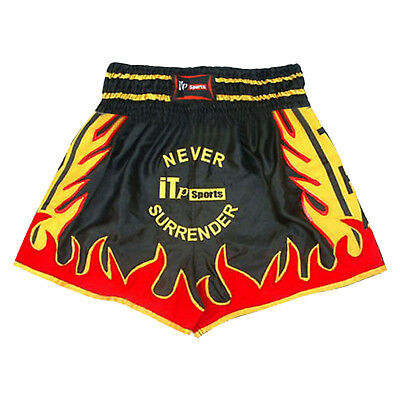 Muay Thai Fight Shorts Kick Boxing Grappling Trunks MMA Shorts JUNIOR & ADULTS