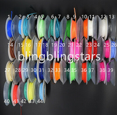10 Packs Short Size Colorful Dental Orthodontic Elastic Power Chain 44 Colors