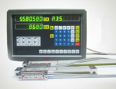 CE 2 Axis digital readout for milling lathe machine with precision linear scale