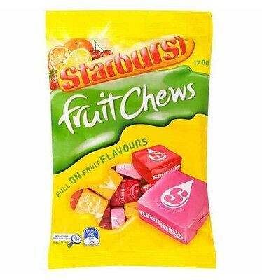 Starburst Fruit Chews 170g x 12