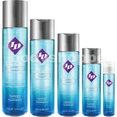 ID Glide Natural Feel Water-Based Lubricant - Select Size