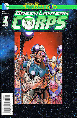 Green Lantern Corps Futures End #1 (2014) Standard Cover 1St Printing