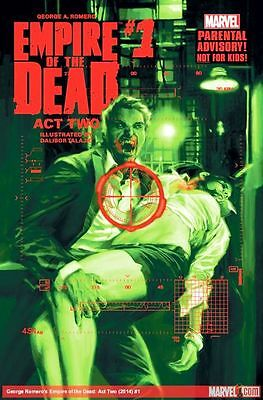 George Romeros Empire Of The Dead Act Two #1  (2014) 1St Print Bagged & Boarded