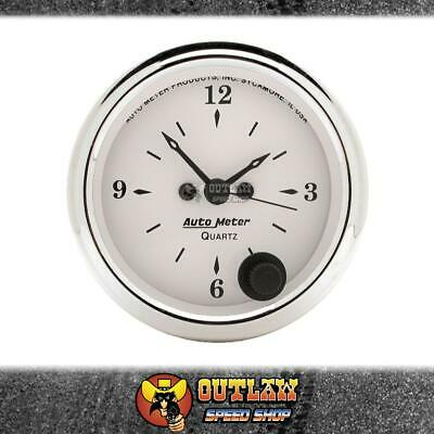 "Autometer Old Tyme Clock 2.1/16"" - Au1686"