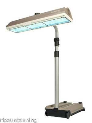 SUNBED FOR HOME USE PORTABLE SUNBED HIGH POWER TANNING LAMPS 3 x 500 WATT LAMPS