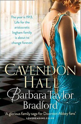 Cavendon Hall Barbara Taylor Bradford Brand New Perfect Paperback 9780007503209