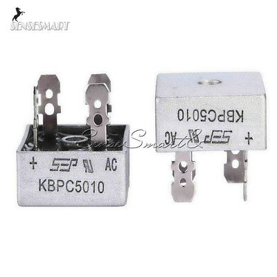 50A 1000V Metal Case Single Phases Diode Bridge Rectifier KBPC5010 ST