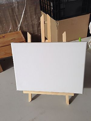 1pce Mini Display Easel With Canvas 12*18cm