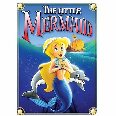 The Little Mermaid Golden Films On DVD with Diane Eskenazi Very Good X08