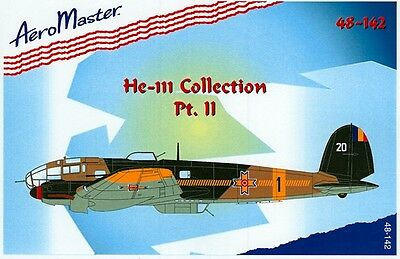 AeroMaster 1/48 decals for He-111 Collection, Part II - AM48142
