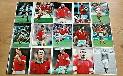 Wales Rugby Players Original Press Photographs