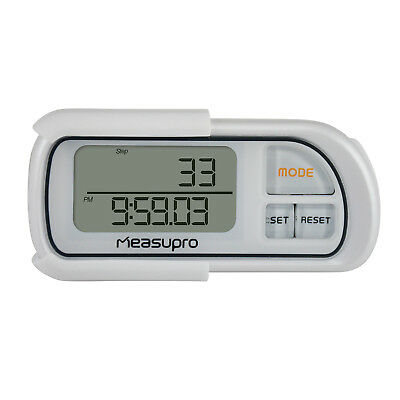 MeasuPro Automatic Smart Sensor 3D Pedometer w/ 30 Day Memory