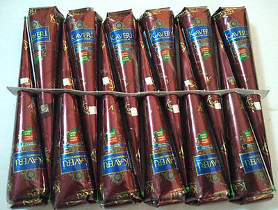 100% Natural FRESH Henna Cones Temporary Tattoo kit Body Art Mehandi ink KAVERI
