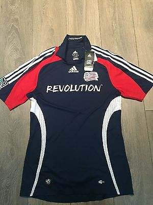 New England Revolution Home Shirt 2008/09 BNWT Medium Rare