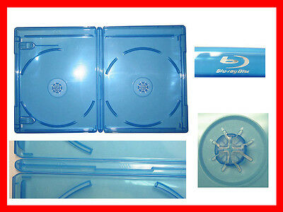 New 20 Pk VIVA ELITE Blu-Ray Double Case 2 Discs Holder Storage 12.5mm Standard