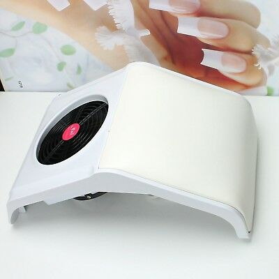 New Suction Dust Machine Vacuum Cleaner Salon Kit Nail Art Tools - US Seller