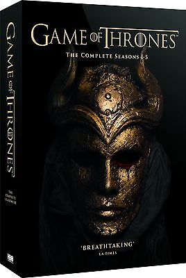 GAME OF THRONES Complete Series 1-5 Collection Boxset (NEW DVD)