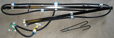 Fold Out Sprayer Boom for ATV or Garden Tractor 10 foot coverage