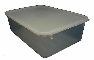 15 X 5LT Plastic Storage Tubs Containers Strong Crate Bin Crates Box Boxes 5L