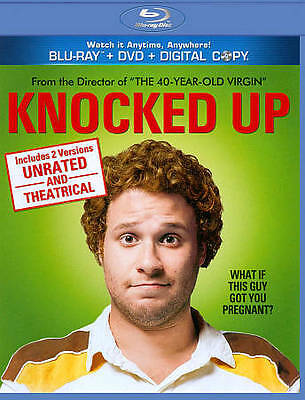 Knocked Up Unrated (Blu ray + DVD + Digi Blu-ray