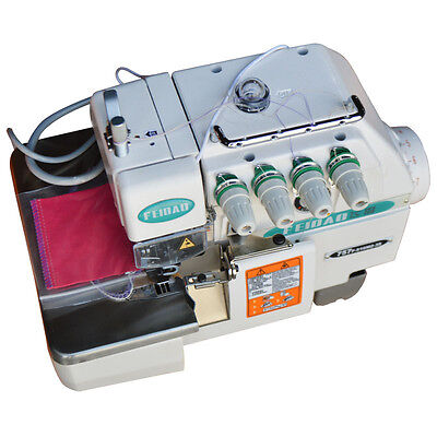 Overlock Serger 2-Needle 5-Thread Industrial Sewing Machine 220V