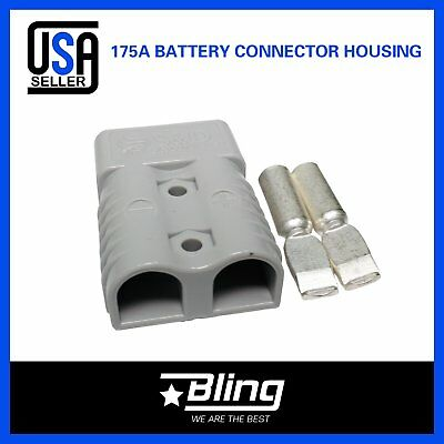 4 Set Of SB 175A amp Power connector plug Grey heavy duty terminal 2awg 35mm