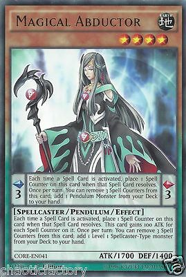 Yu-Gi-Oh! Magical Abductor CORE-EN041 1st Edition Rare MINT