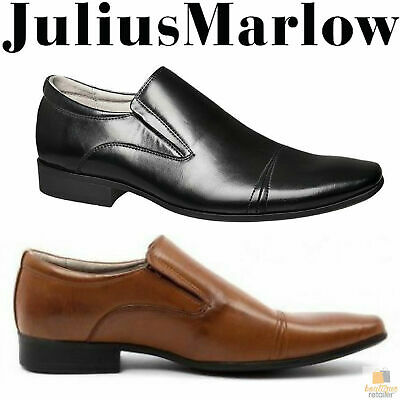 JULIUS MARLOW JM33 Cory Synthetic Leather Dress Shoes Slip On Men's Formal Work