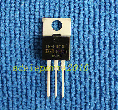10pcs IRFB4410Z IRFB4410 FB4410Z TO-220 97A 100V MOSFET