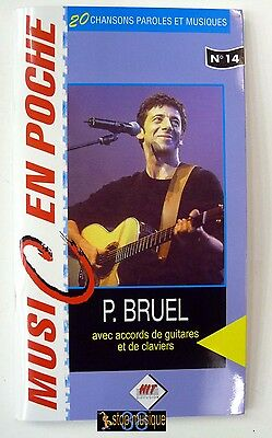 Music en poche-Recueil 20 chansons+accords guitare & piano-Patrick Bruel