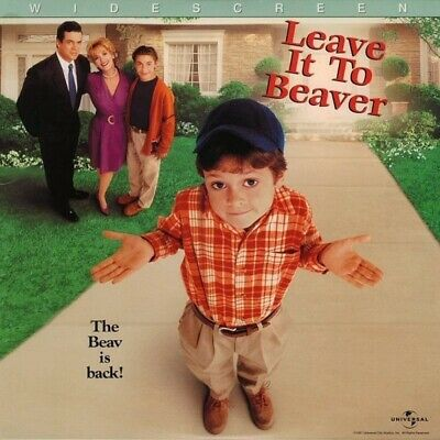 LEAVE IT TO BEAVER WS CC N&S NTSC LASERDISC Christopher McDonald, Janine Turner