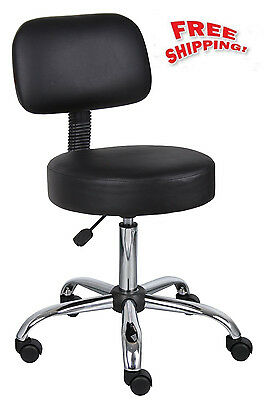 Furniture Stool Medical Doctor Boss Lab Chair Office Dental Exam Fine Adjustable
