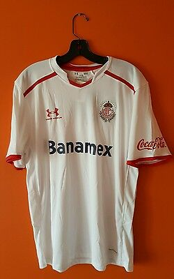 Under Armour Deportivo Toluca Jersey Size Large Brand New