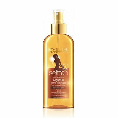 Eveline Selftan Face & Body Bronzing Mist 3in1 Dark Skin 150ml