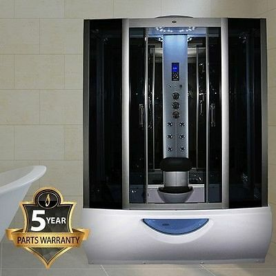 Insignia INS1057 Mirror Glass Steam Shower Enclosure whirlpool bath Jacuzzi