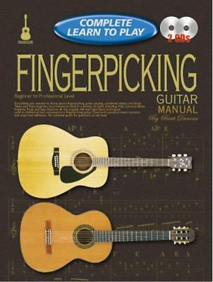 Complete Learn To Play Fingerpicking Book/CD