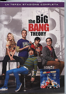 THE BIG BANG THEORY STAGIONE 3 NUOVO, Cofanetto 3DVD, ITALIANO
