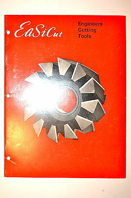 EaSiCut ENGINEERS CUTTING TOOLS CATALOG #RR947 drill bits cutters end mills taps