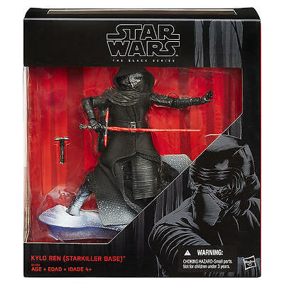 Star Wars The Black Series Kylo Ren (Starkiller Base) 6-Inch Kmart Exclusive NIB
