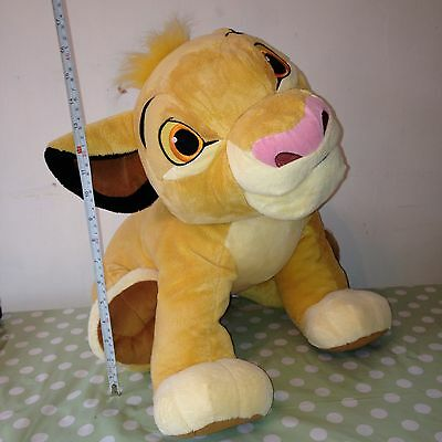 2 Foot LARGE Big Simba Plush Toy Official DISNEY STORE Exclusive THE LION KING