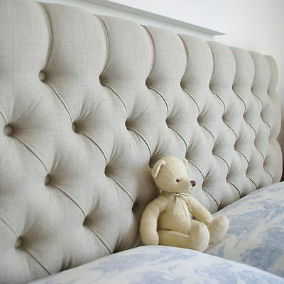 BEAUTIFUL Colchester  Headboard in Turin Fabric,Top Quality Bargain Price !
