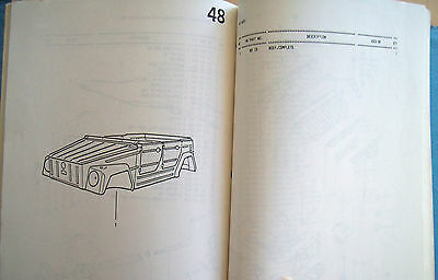 VW THING ILLUSTRATION GUIDE FULL BUILD TOP TO BOTTOM Manual Type 181 Volkswagen