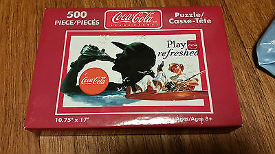 Coca Cola Puzzle 500 Piece Sealed play refreshed