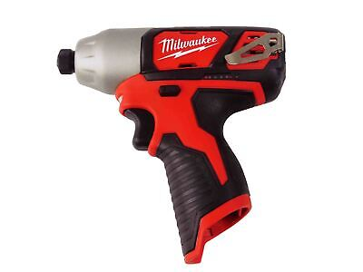"NEW MILWAUKEE 2462-20 M12 12V 12 Volt Li-Ion 1/4"" Cordless  Hex Impact Driver"