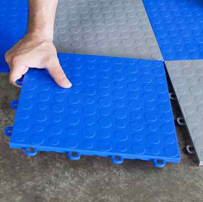 Trade Show Floor Portable |Royal Blue Coin|Made in the USA