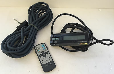 Lot Used Accessories: Alpine Compact Disc Remotes CHM5653RF, RUE4178, 8-Pin Cord