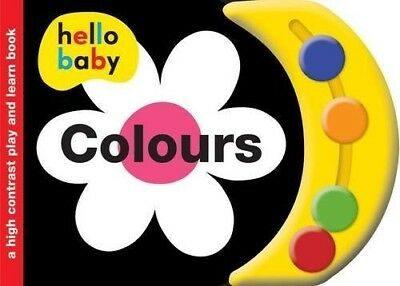 Play Learn Colours (Hello Baby Play and Learn) - New Book Roger Priddy