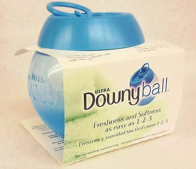1 Ultra DOWNY BALL Automatic Fabric Softener Freshener Dryer Dosing Dispenser