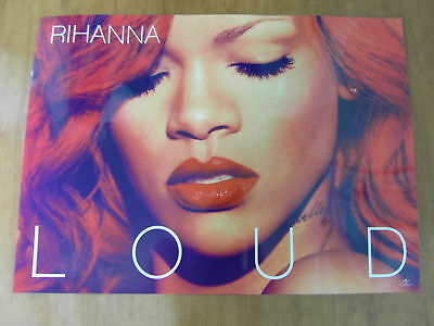 RIHANNA - Loud [OFFICIAL] 2 Sided POSTER *NEW*