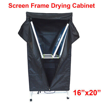 Silk Screen Printing Screen Frame Drying Cabinet Assembly Folding Cure Dryer